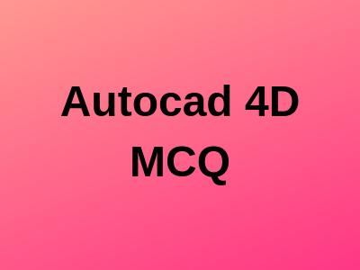 Autocad 4D