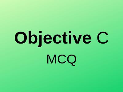 Objective-C-mcq