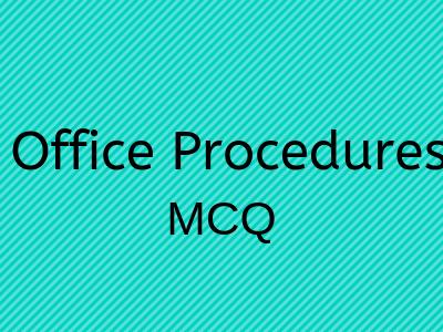 Office Procedures