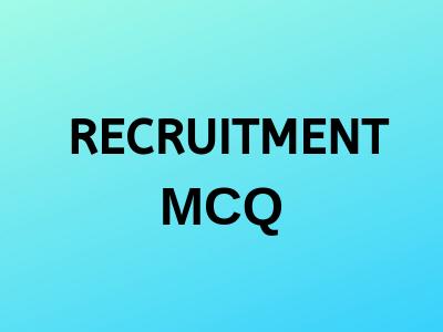 Recruitment-mcq