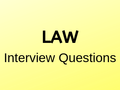 law-Interview-questions