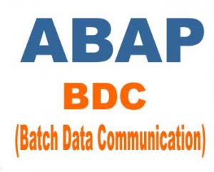 SAP ABAP BDC Interview Questions and Answers
