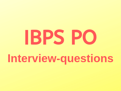 ibps-Interview-questions