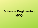 100 Top Software Engineering Multiple Choice Questions Answers