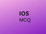 100 Top IOS Multiple Choice Questions and Answers