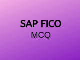 100 Top SAP FICO Multiple Choice Questions and Answers