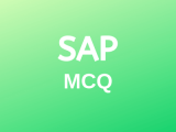 100 Top SAP MM Multiple Choice Questions and Answers